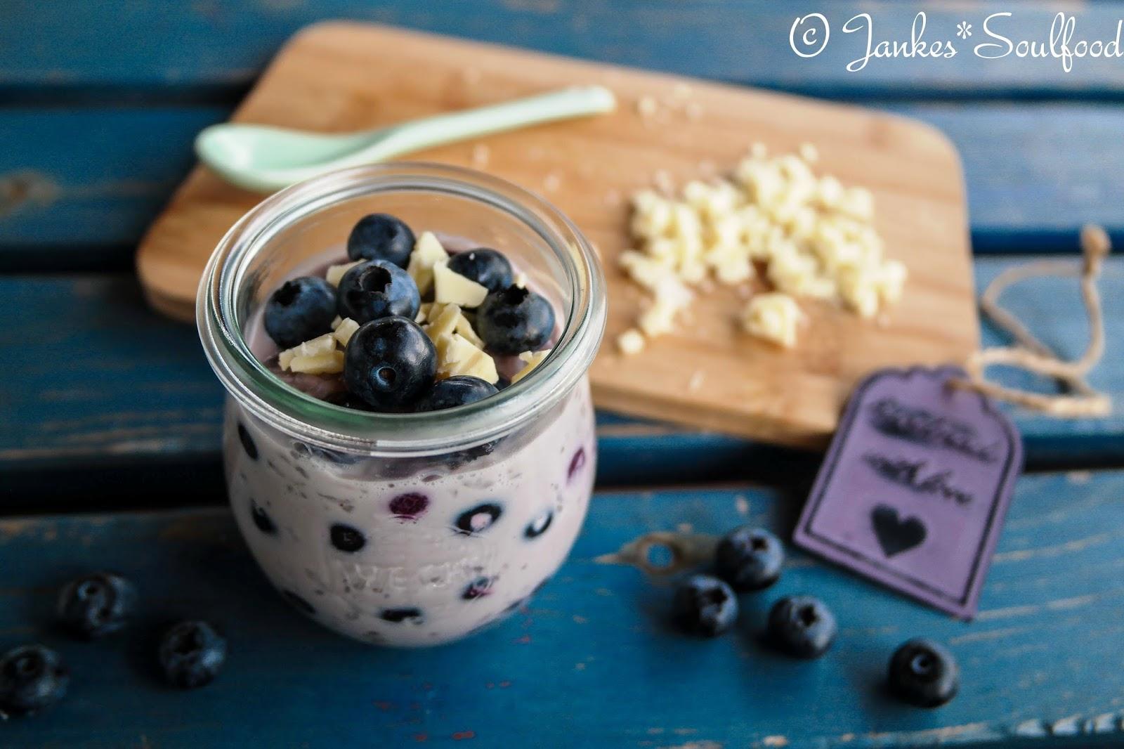 Heidelbeer-Milchreis von Jankes Soulfood