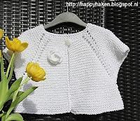 Gebreid vestje voor meisjes 1 1/2 tot 4 jaar | breipatroon verkrijgbaar