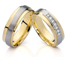 Cheap Wedding Ring Sets For Bride And Groom