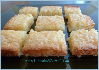 White Brownies | www.BakingInATornado.com | #recipe #dessert