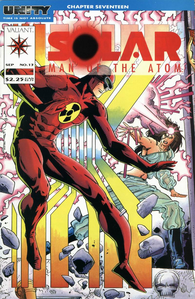 Read online Solar, Man of the Atom comic -  Issue #13 - 1