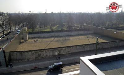 Memorial del Muro de Berlín - Recreación muro Centro Visitantes