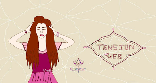 Girl in Tension Web cartoon