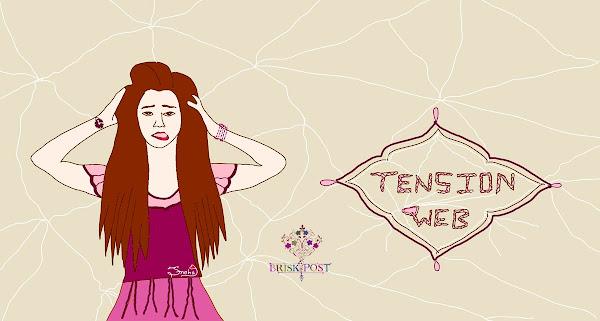 Girl in Tension Web cartoon