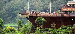 Pinisi Resto - Situ Patenggang - Glamping Lakeside - Wisata Ciwidey