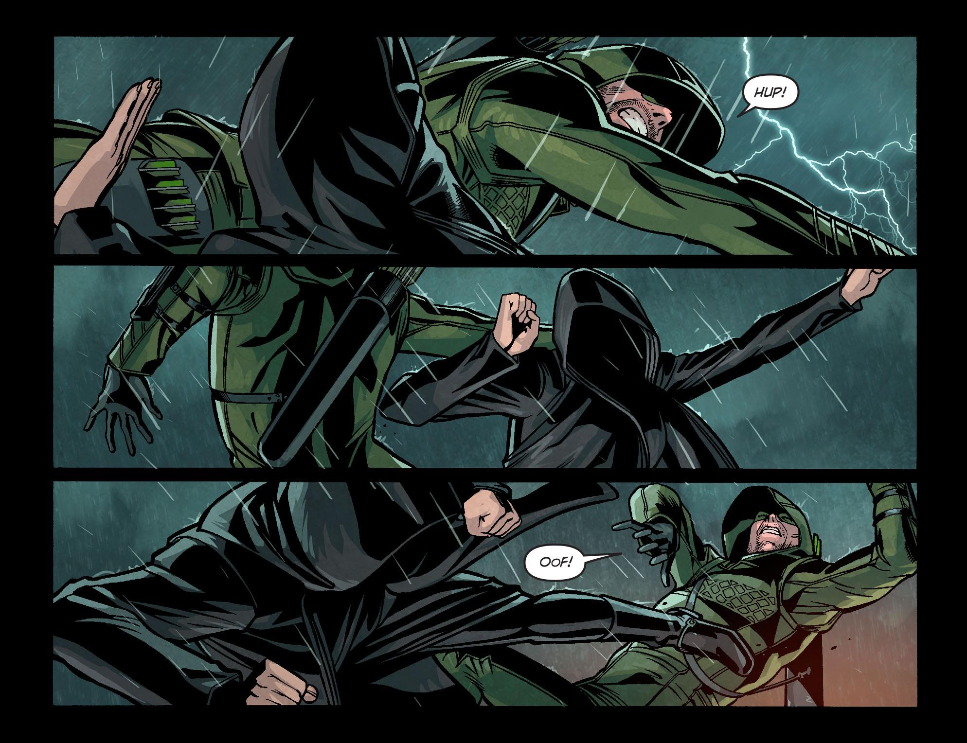 Read online Arrow: Season 2.5 [I] comic -  Issue #9 - 4