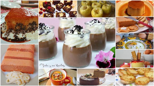 Recetas dulces y saladas hechas en microondas. Julia y sus recetas