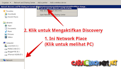 Cara Melihat Network Place di Windows 7