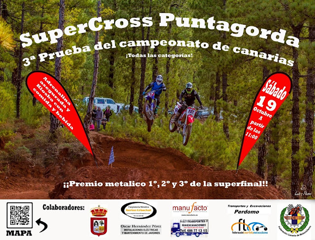 SuperCross Mañana en Puntagorda