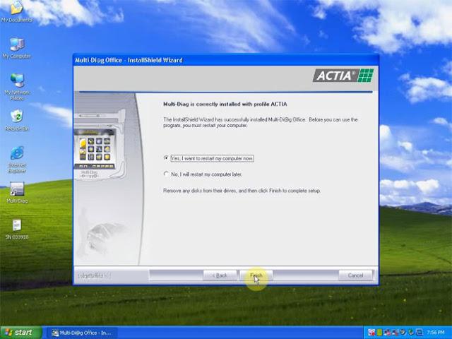 redémarrer l'ordinateur