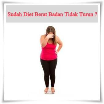 Sudah Diet Berat Badan Tidak Turun? Penyebabnya