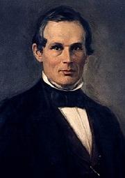 Físico sueco Anders Jonas Ångström (1814-1874).