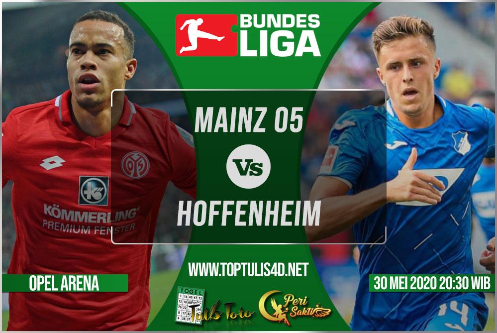 Prediksi Mainz 05 vs Hoffenheim 30 Mei 2020