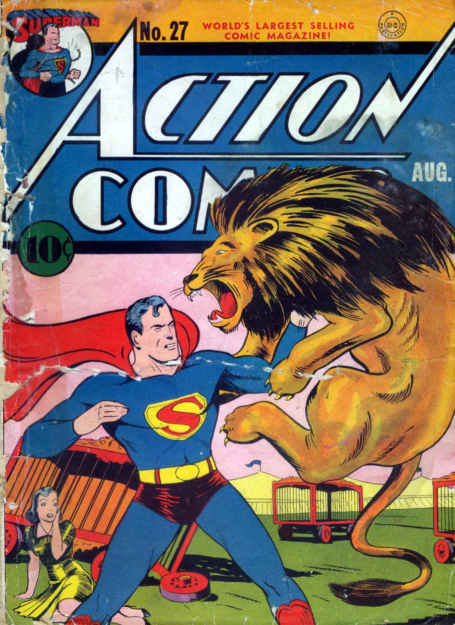 Read online Action Comics (1938) comic -  Issue #27 - 5