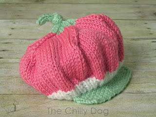 Free Knitting Pattern: Baby Strawberry Shortcake Hat