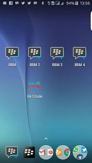 Download Dual BBM + BBM2 + BBM3 + BBM4 v3.2.2.8 MOD APK Terbaru