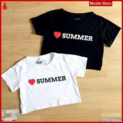 GFSH1869186 Setelan Crop Keren Terbaru Summer BMG