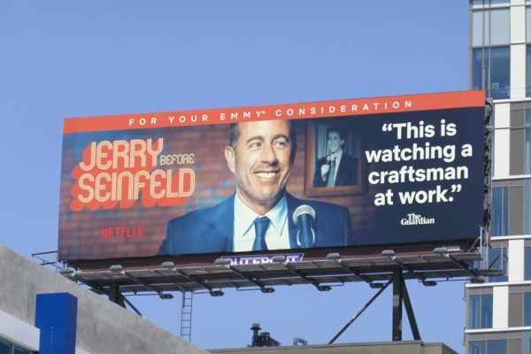 Jerry Before Seinfeld Emmy FYC billboard