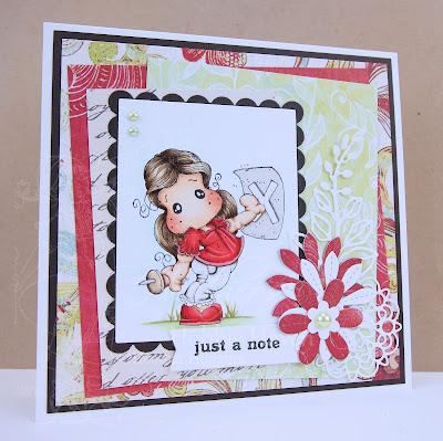 Heather's Hobbie Haven - PinNot Tilda Card Kit