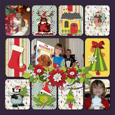 Photo Love Scrapbooking Templates