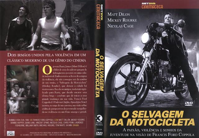 Capa DVD O Selvagem Da Motocicleta