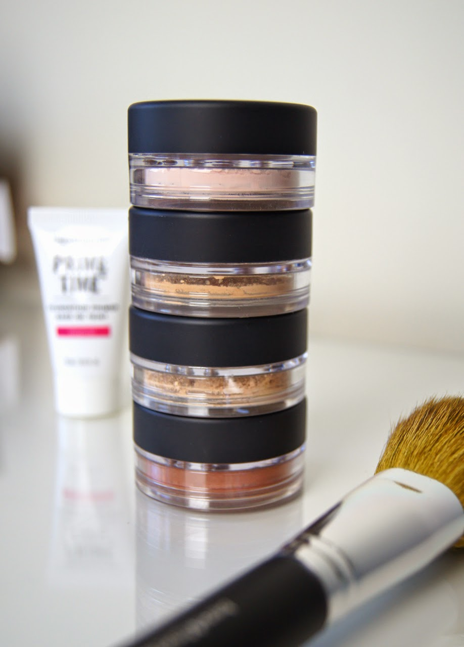 bare minerals get started kit light review