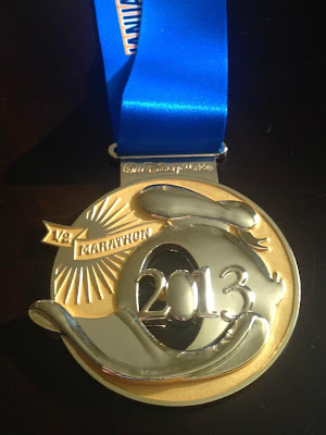 2012 Walt Disney World Half Marathon Medal