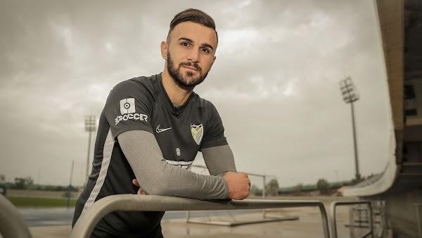 """Sadiku - Málaga -: """"Nunca he visto una afición que apoye así al equipo"""""""