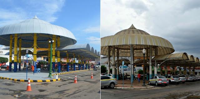Praça de táxi é revitalizado em Cruzeiro do Sul;