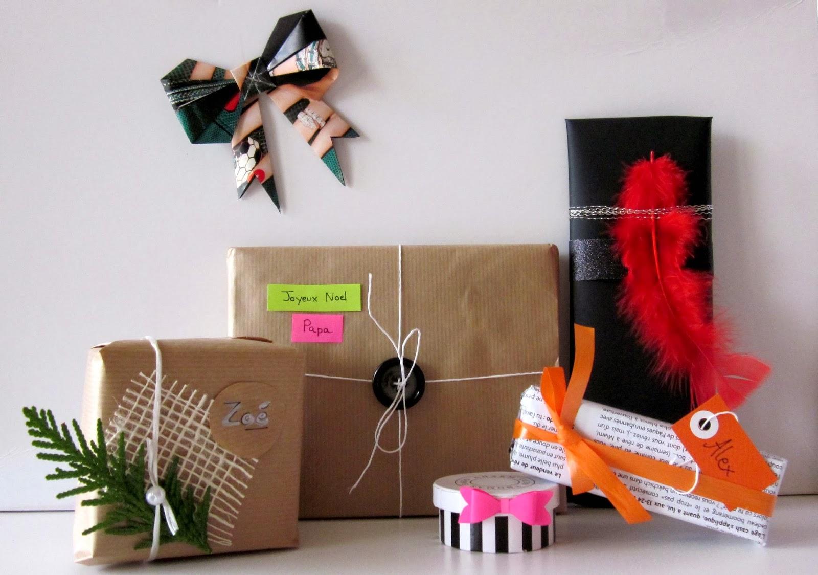 Decoration De Paquets Cadeaux princessestv: k-do de noël