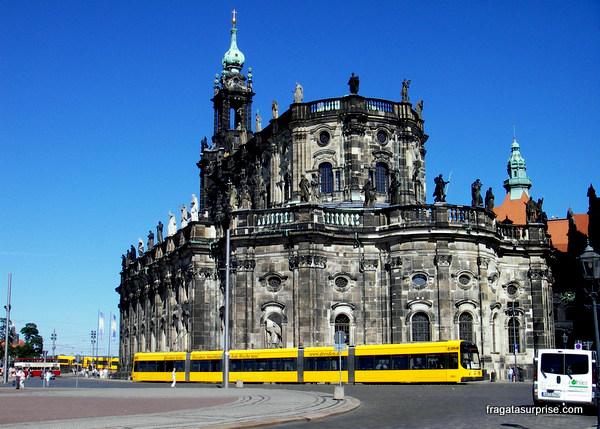 Hofkirche, catedral católica de Dresden