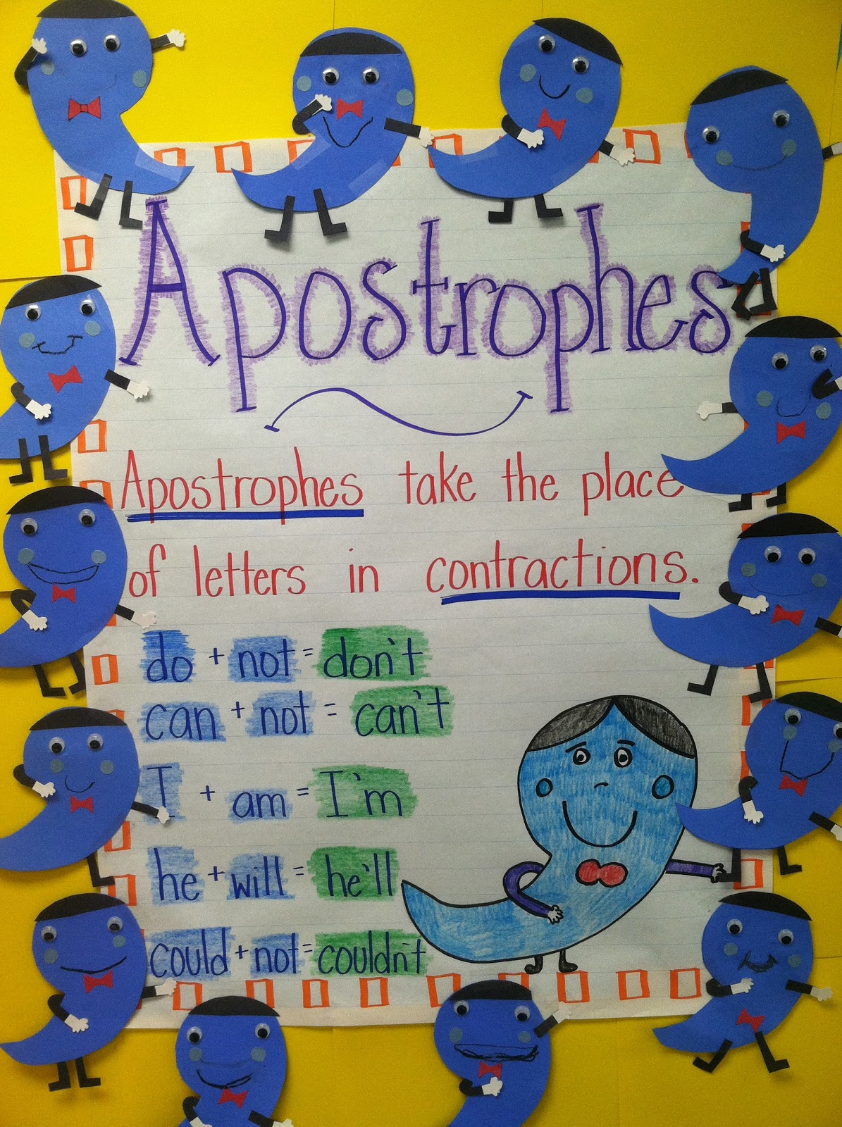 Life In First Grade Alfie The Apostrophe