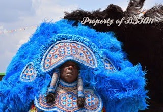 NOLA Jazz Fest 2015  mardi gras indian 1