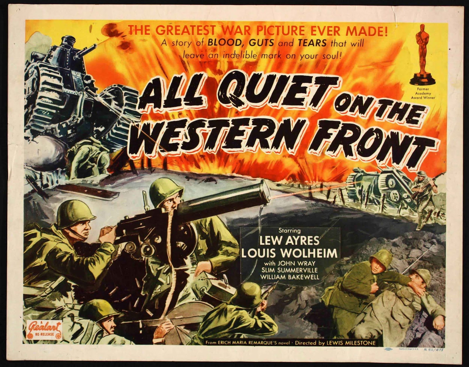 the themes of pain and suffering in all quiet on the western front by remarque From plot debriefs to key motifs, thug notes' all quiet on the western front summary & analysis has you covered with themes, symbols, and important quotes.