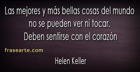 Helen Keller en frases