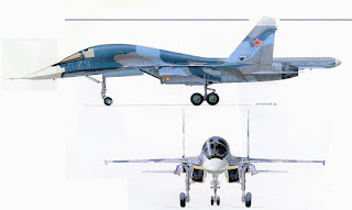 Sukhoi Su-34 Fullback/ Platypus -  Pesawat Fighter-Bomber