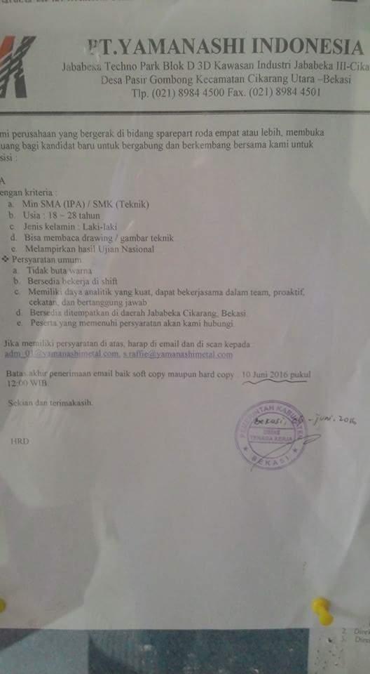 Daftar Alamat Pt Cikarang Daftar Alamat Perusahaan Kawasan Jababeka Mm2100 Ejip Pt Yamanashi Indonesia Jababeka Cikarang