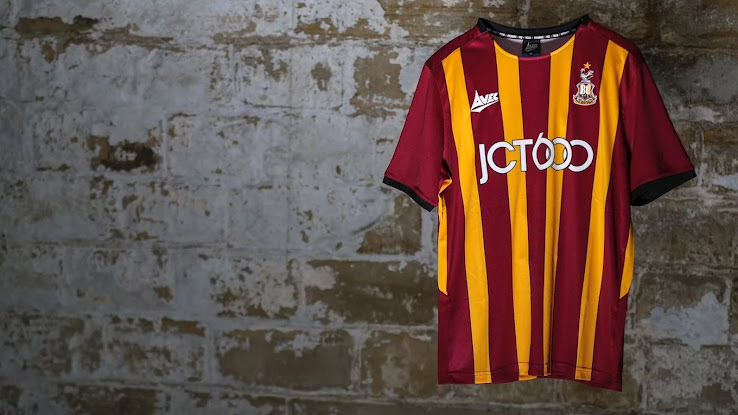 Bradford City 19-20 Home Kit Released - Footy Headlines
