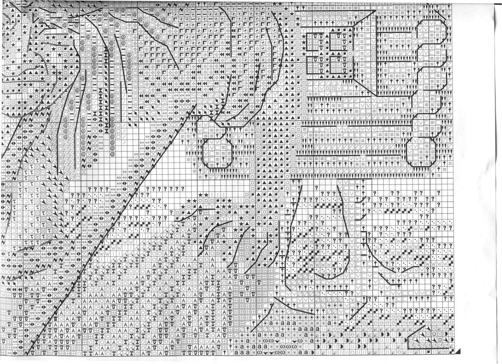 Схемы вышивок баба яга 906