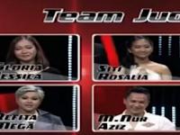 Daftar nama lengkap Kontestan The Voice Indonesia Yang msih bertahan Babak Live Show