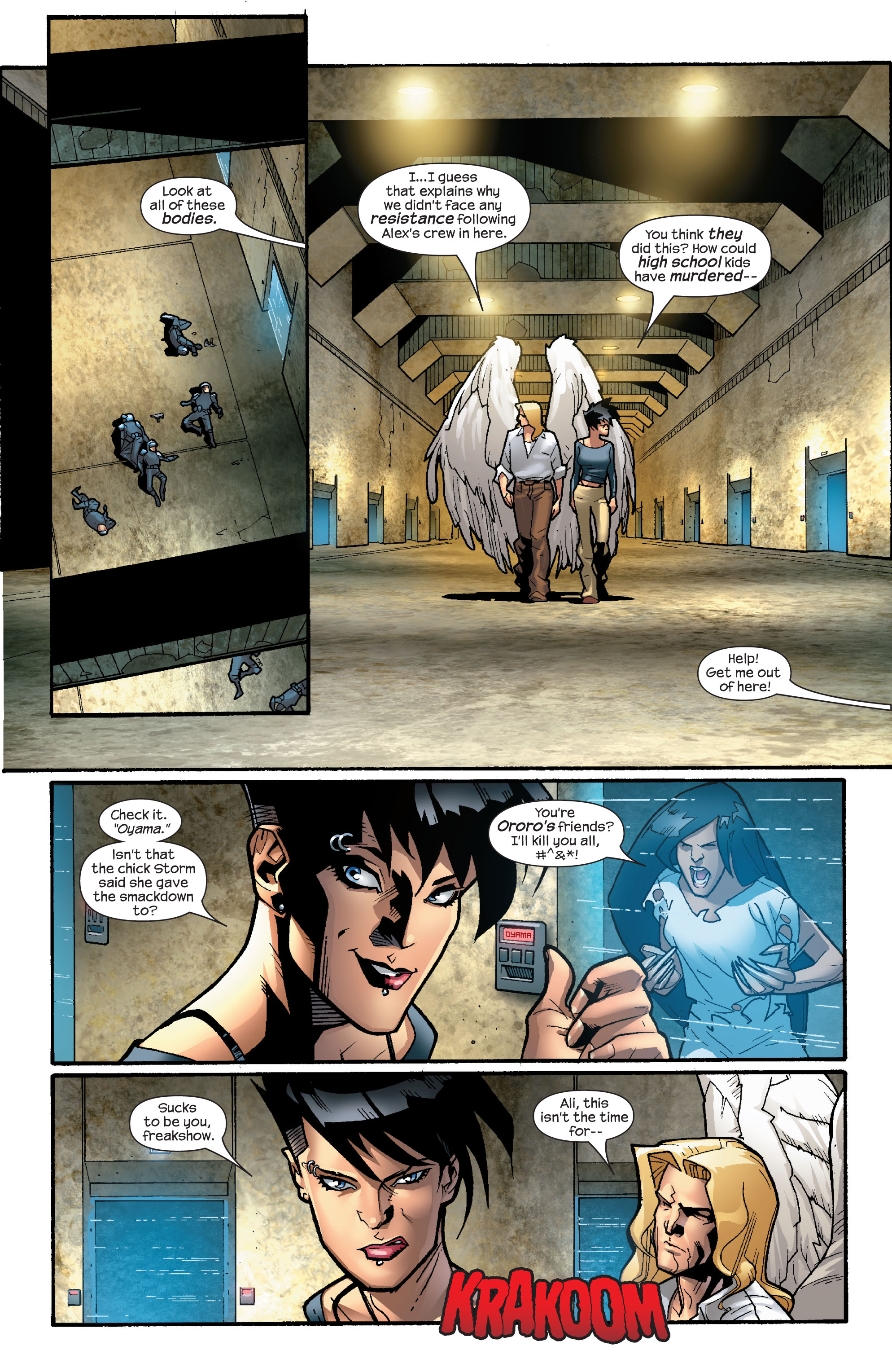 Read online Ultimate X-Men comic -  Issue #64 - 22