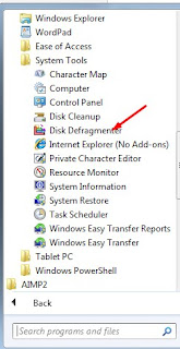 cara defrag laptop
