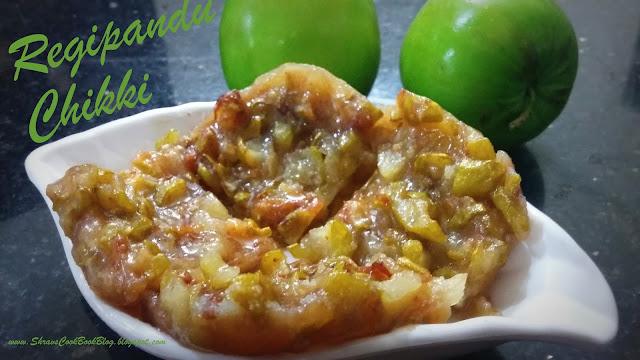 Regi pandu oe Regi Pallu Chikki - Jujube Brittle - Jujube Fudge - Fruit Chikki