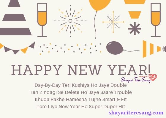 Day-By-Day Teri Kushiya, Happy New Year