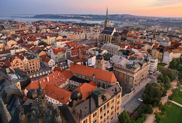 Cidade Pilsen na República Checa