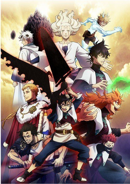 Black Clover Anime New Key Visual