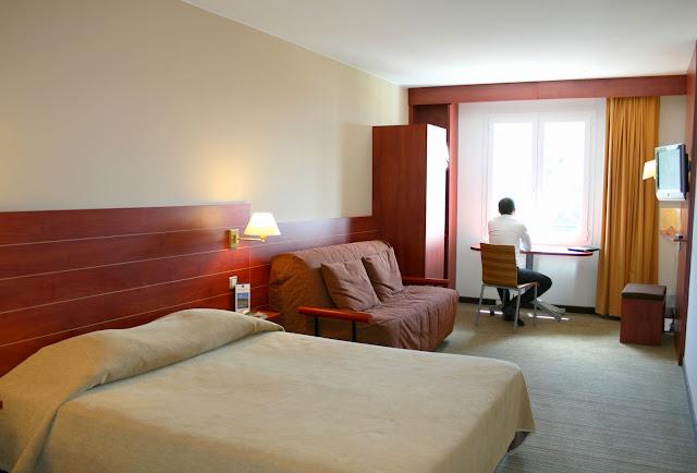 Chambre de l'hôtel Best Western Ajaccio