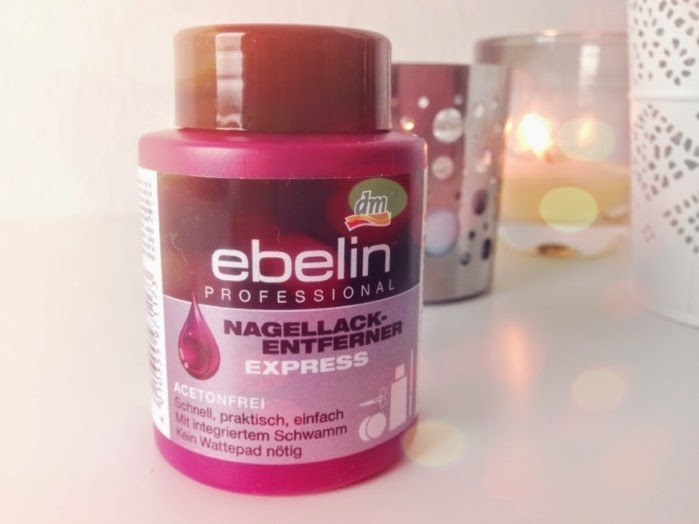 Ebelin Nagellackentferner Express Review