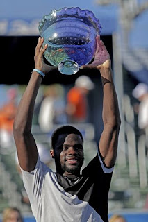 Tiafoe wins title at Delray Beach