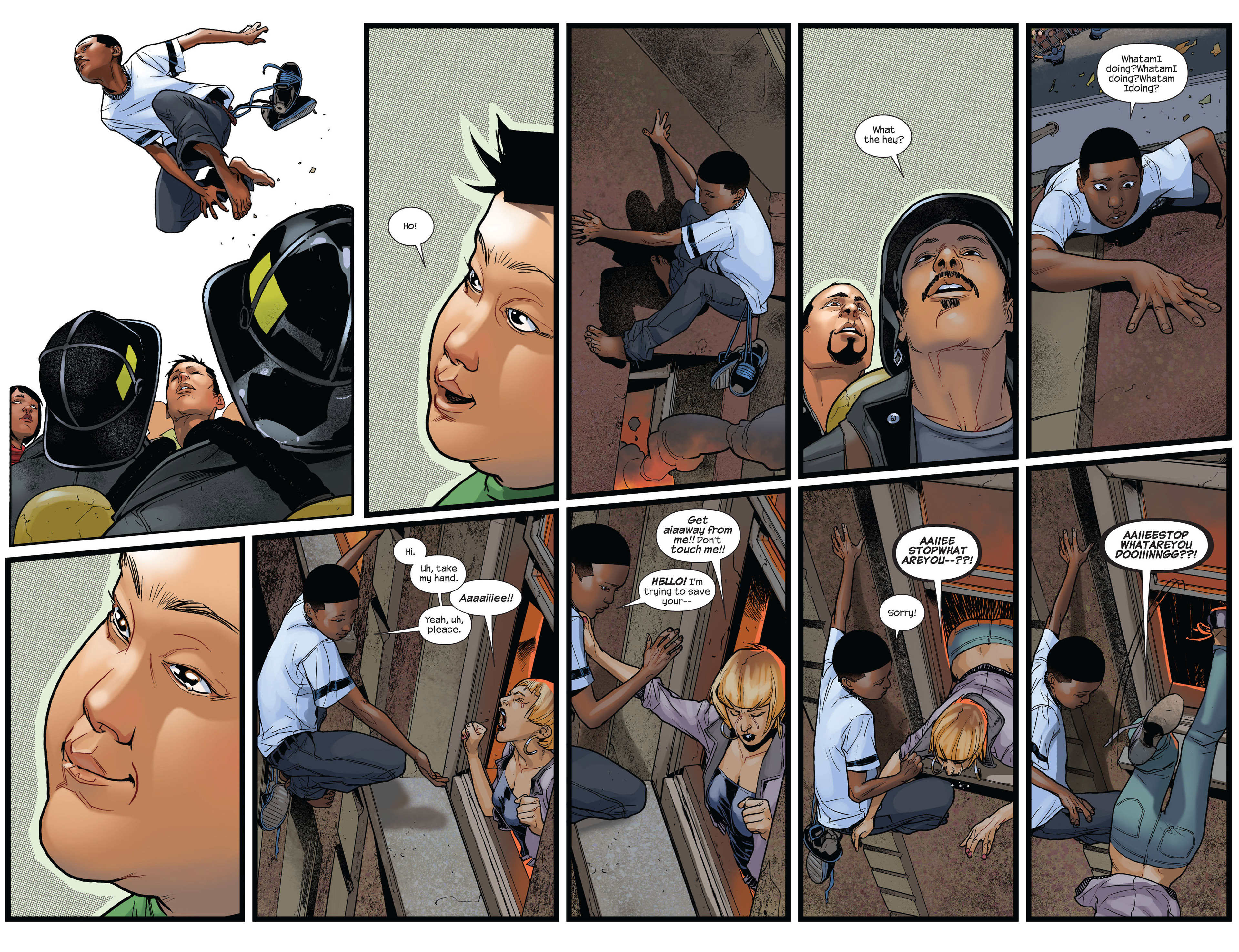 Read online Ultimate Comics Spider-Man (2011) comic -  Issue #3 - 10